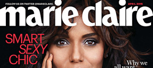Kerry washington marie claire cover