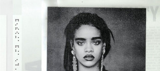 New rihanna album cover