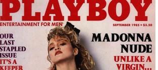 Madonna Playboy Cover