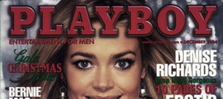 Denise Richards Playboy Cover