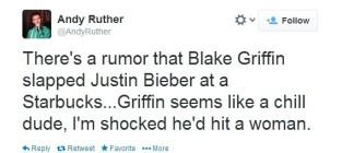 Twitter Talks About Blake Griffin Slapping Bieber
