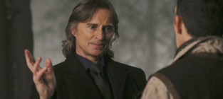Mr. Gold on Once Upon a Time