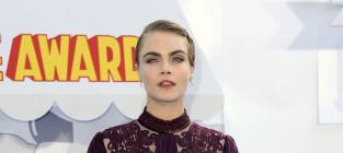 Cara Delevingne at MTV Movie Awards