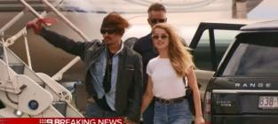 Johnny Depp and Amber Heard in Australia