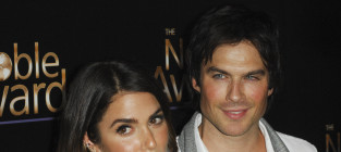 It's Ian Somerhalder and Nikki Reed!
