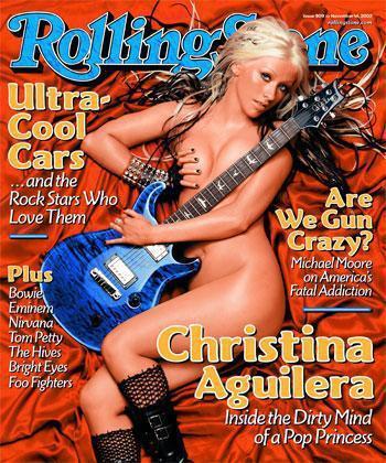 Christina Aguilera Rolling Stone Cover