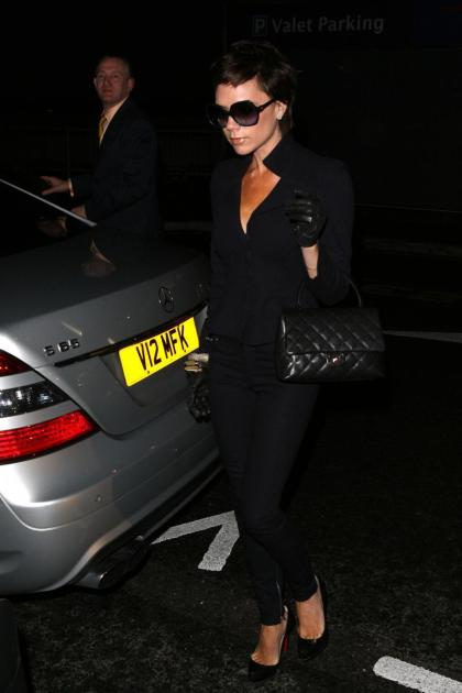 Posh Spice Does Business in London