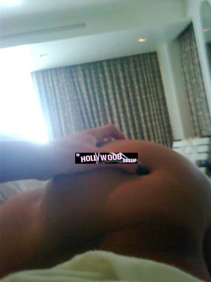 Rihanna's Rear End?