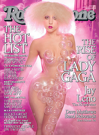 Lady Gaga Nude Rolling Stone Cover