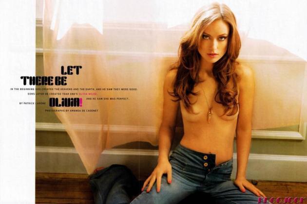 Topless Olivia Wilde