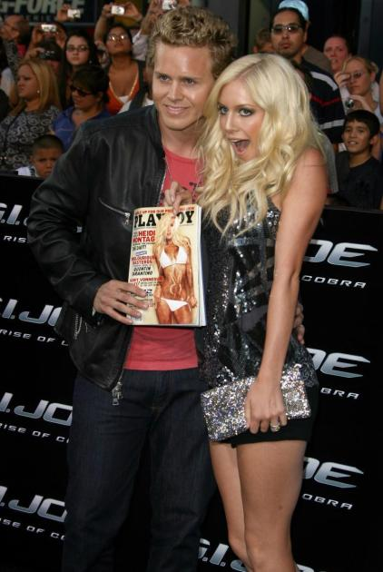Spencer and Heidi, Playboy Cover