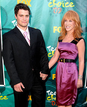 Kathy Griffin, Levi Johnston