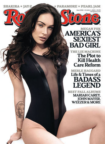 Megan Fox Rolling Stone Cover