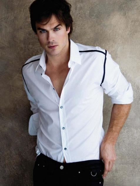 Ian Somerhalder in Aug Man