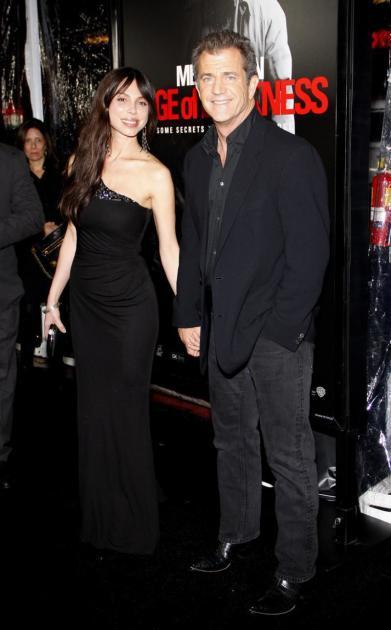 Mel Gibson and Oksana Grigorieva