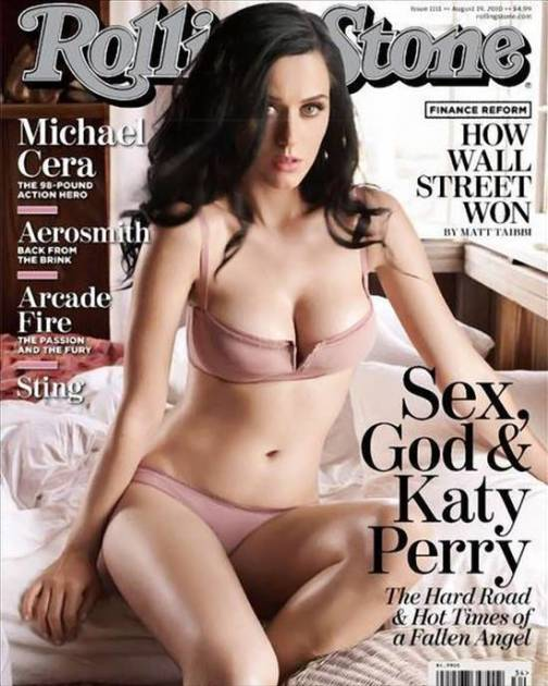 Katy Perry Rolling Stone Cover (Again)