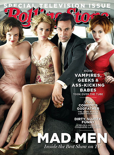 Mad Men Rolling Stone Cover
