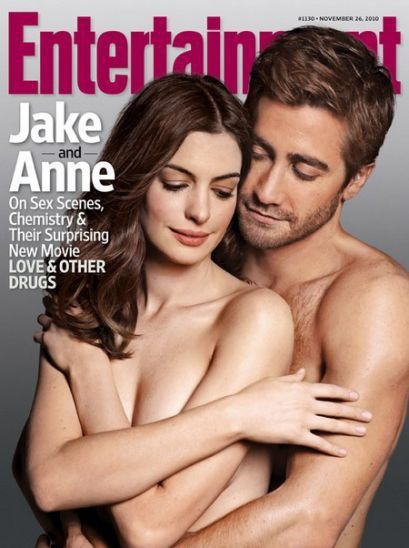 Anne Hathaway and Jake Gyllenhaal Topless