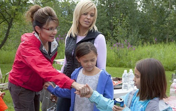 Sarah Palin and Kate Gosselin