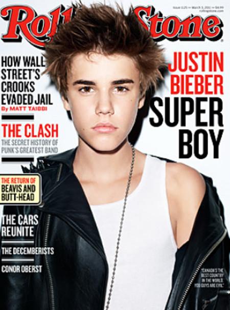 Justin Bieber Rolling Stone Cover (Again)