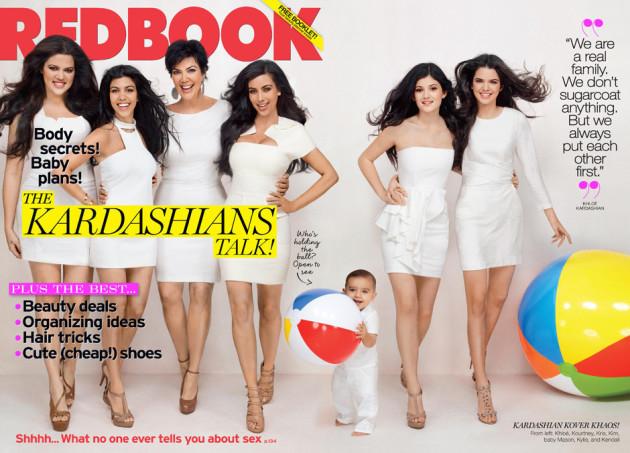 Kardashians Redbook Cover
