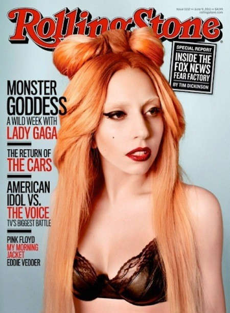 Lady Gaga Rolling Stone Cover