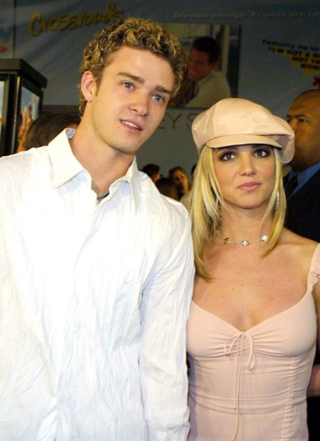 Young Justin Timberlake with Britney