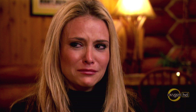 Brooke Mueller in Tears