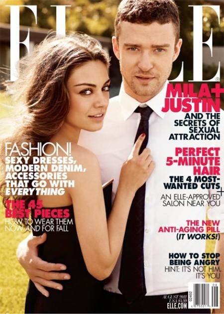 Justin Timberlake in Elle