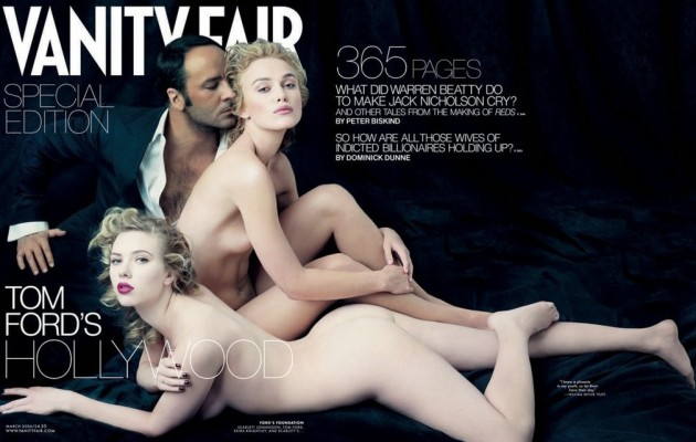 Scarlett Johansson and Keira Knightley in Vanity Fair