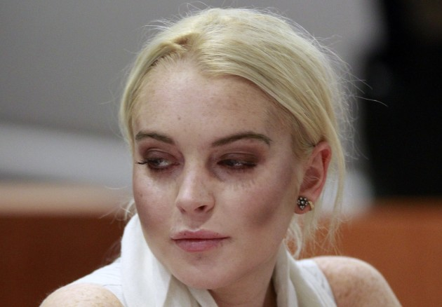 Lindsay Lohan: Court Style