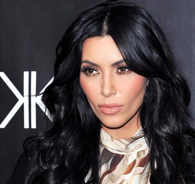 Kim Kardashian Was...