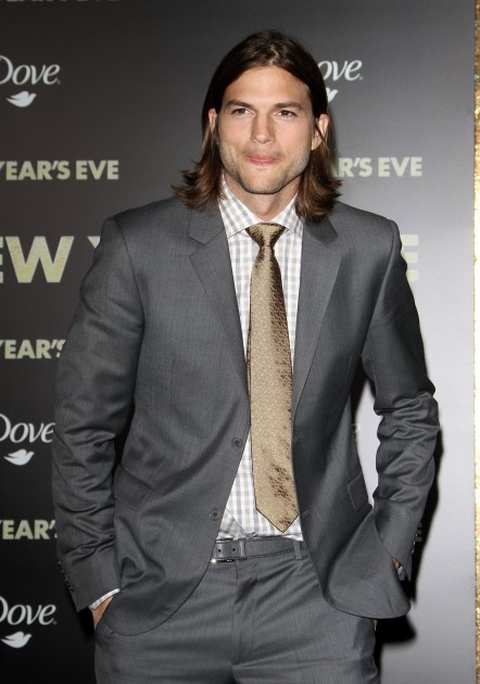 Ashton Kutcher At New Years Eve Premiere