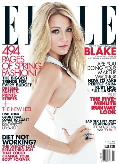 Blake Lively Elle Cover