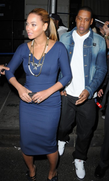Beyonce and Jay-Z Step Out