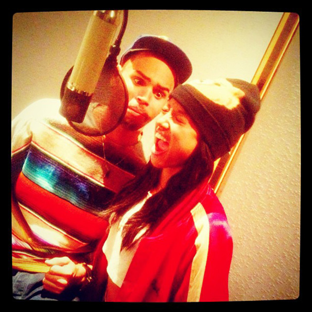 Karrueche Tran and Chris Brown Photo