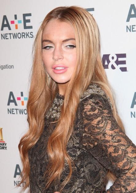 Lindsay Lohan: Strike A Pose?