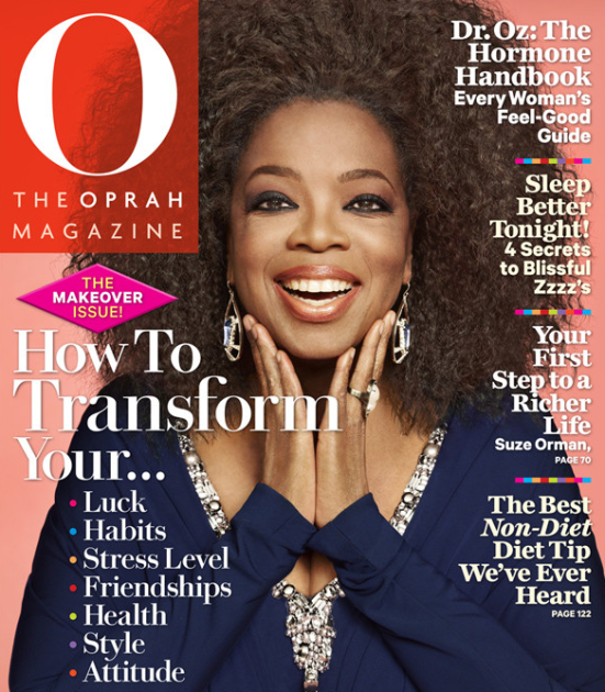 Oprah Winfrey Natural Hair