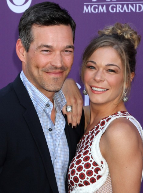 Eddie Cibrian and LeAnn Rimes