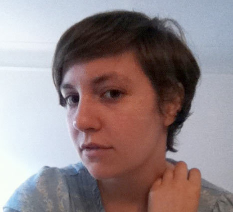 Lena Dunham Short Hair
