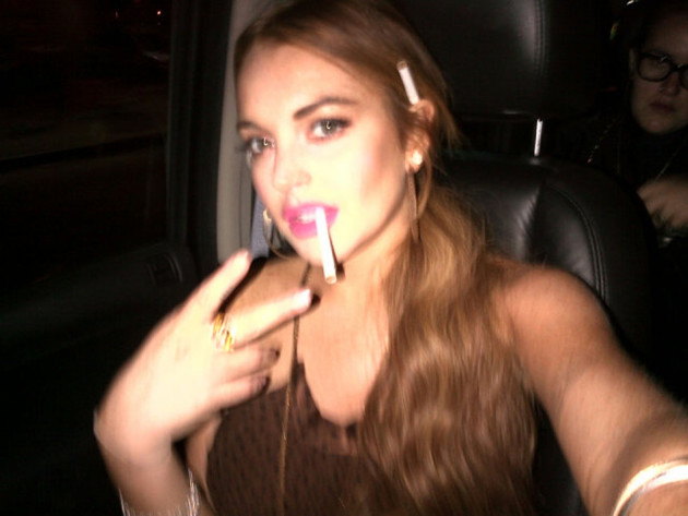 Lindsay Lohan: Train Wreck