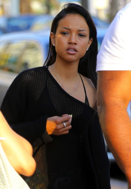 Karrueche Tran, No Makeup