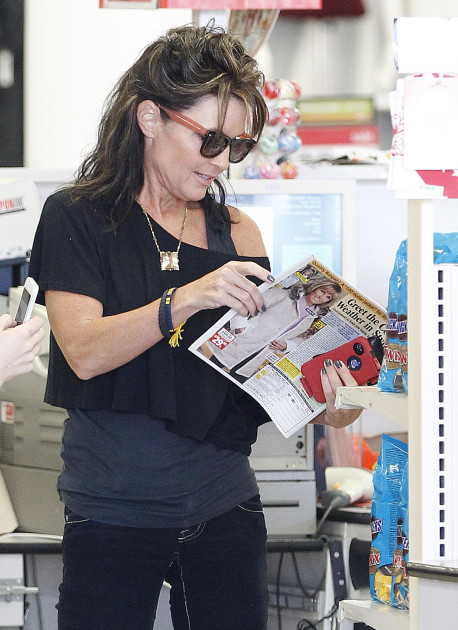 Sarah Palin at KMart