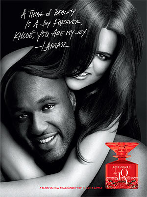 Khloe Kardashian and Lamar Odom Fragrance