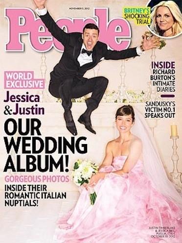 Jessica Biel Wedding Dress