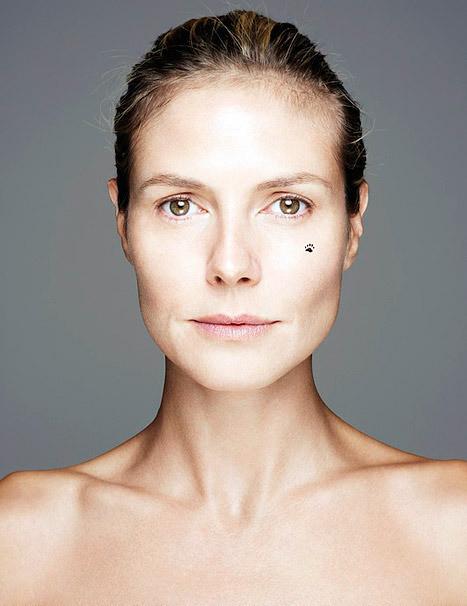 Heidi Klum No Makeup