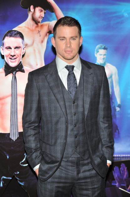 Channing Tatum in a Suit