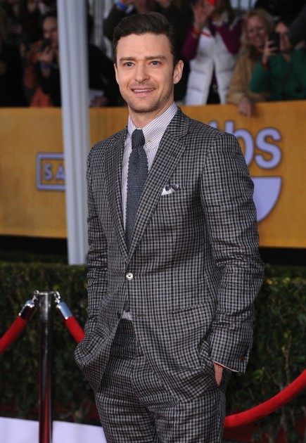 Justin Timberlake Poses
