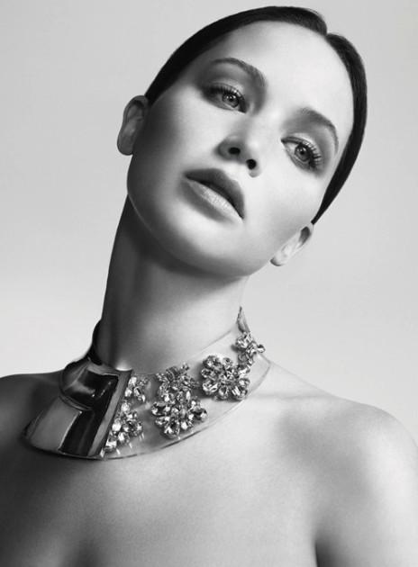 Jennifer Lawrence Dior Ad