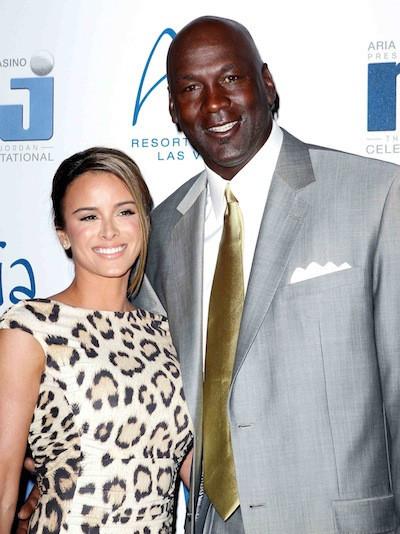 Michael Jordan and Yvette Prieto